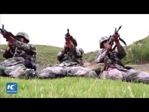 """Most watched live moments: Chinese """"iron army"""" units conduct live-fire drills"""