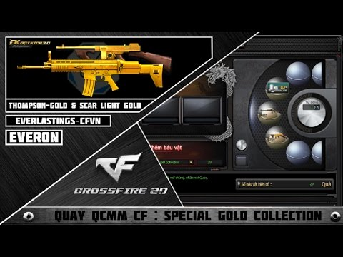 CFVN : Quay Báu Vật CF #16 : Special Gold Collection | Win Thompson Gold & Scar Light Gold ✔