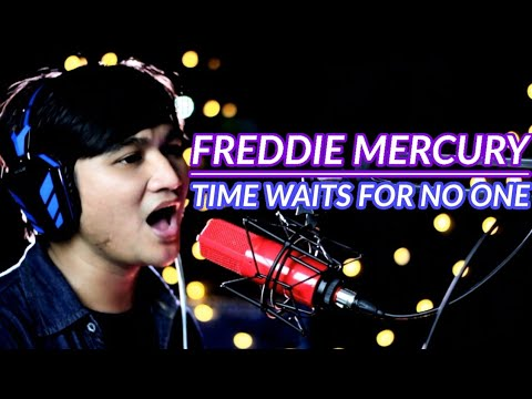 Freddie Mercury - Time Waits For No One Covered By Ridwan