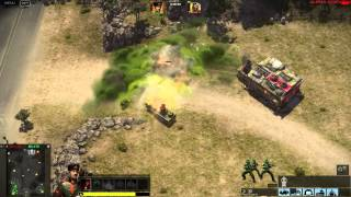 Command & Conquer 2013 Alpha Gameplay - APA Taskmaster vs GLA Thrax (Toxin)
