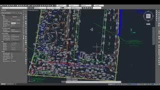 Генплан: привязка по координатам