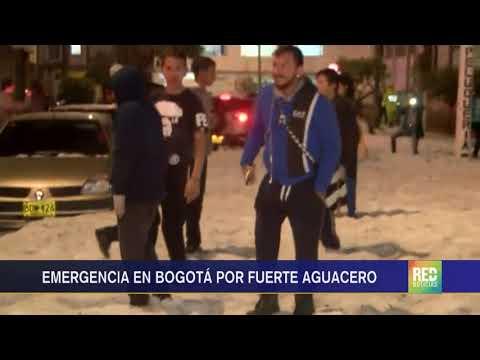RED+ | Emergencia en Bogotá por fuerte aguacero
