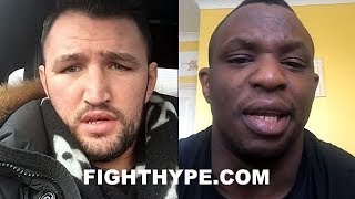 FURY AND WHYTE TRADE WORDS ON POTENTIAL CLASH; DISAGREE ON DATE AFTER AGREEING TO FIGHT