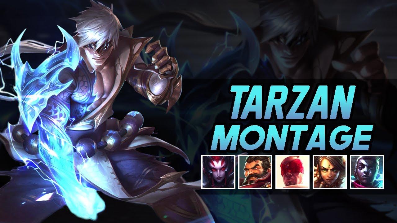 "Tarzan ""Korean Challenger Jungler"" Montage | Best Jungle Plays"
