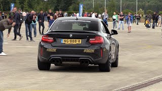 430HP BMW M2 F87 Mosselman Turbo Systems - POP & BANGS, Revs & Drifts