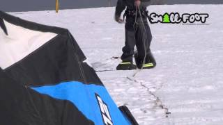 Inflatable Snowshoes by Small Foot - Snowkite Testing Thumbnail