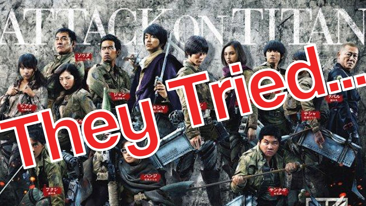 Live Action Attack On Titan Full Movie