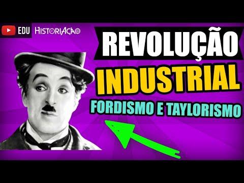 Revolução Industrial: Fordismo, Taylorismo e Just in Time |Resumo História ENEM - Vídeo Aula|