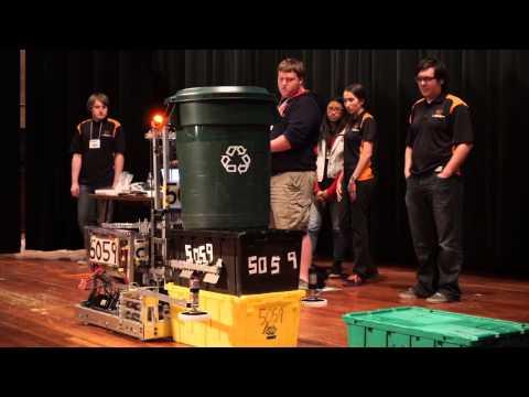 Globe TigeRobotics Robot Demo in Miami