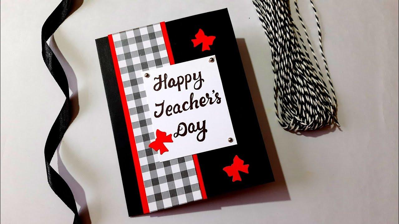 Classy and Elegant TEACHERS DAY CARD | Tutorial