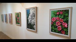 조신호 작가 천리포수목원 초대전 개막식영상