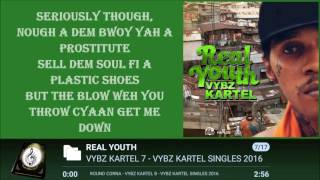 VYBZ KARTEL - REAL YOUTH LYRICSᴴᴰ 2016