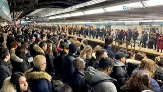 Train derailment leads to 7 hour subway disruption