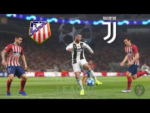 Atletico Madrid Vs Juventus - UEFA Champions League | PES 2019 Patch [Giù]