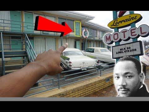 VISITING THE CIVIL RIGHTS MUSEUM - MARTIN LUTHER KING MOTEL