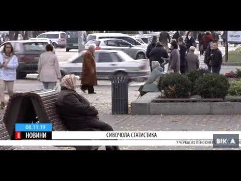 ТРК ВіККА: Сивочолий мінус: на Черкащині зменшилася кількість пенсіонерів