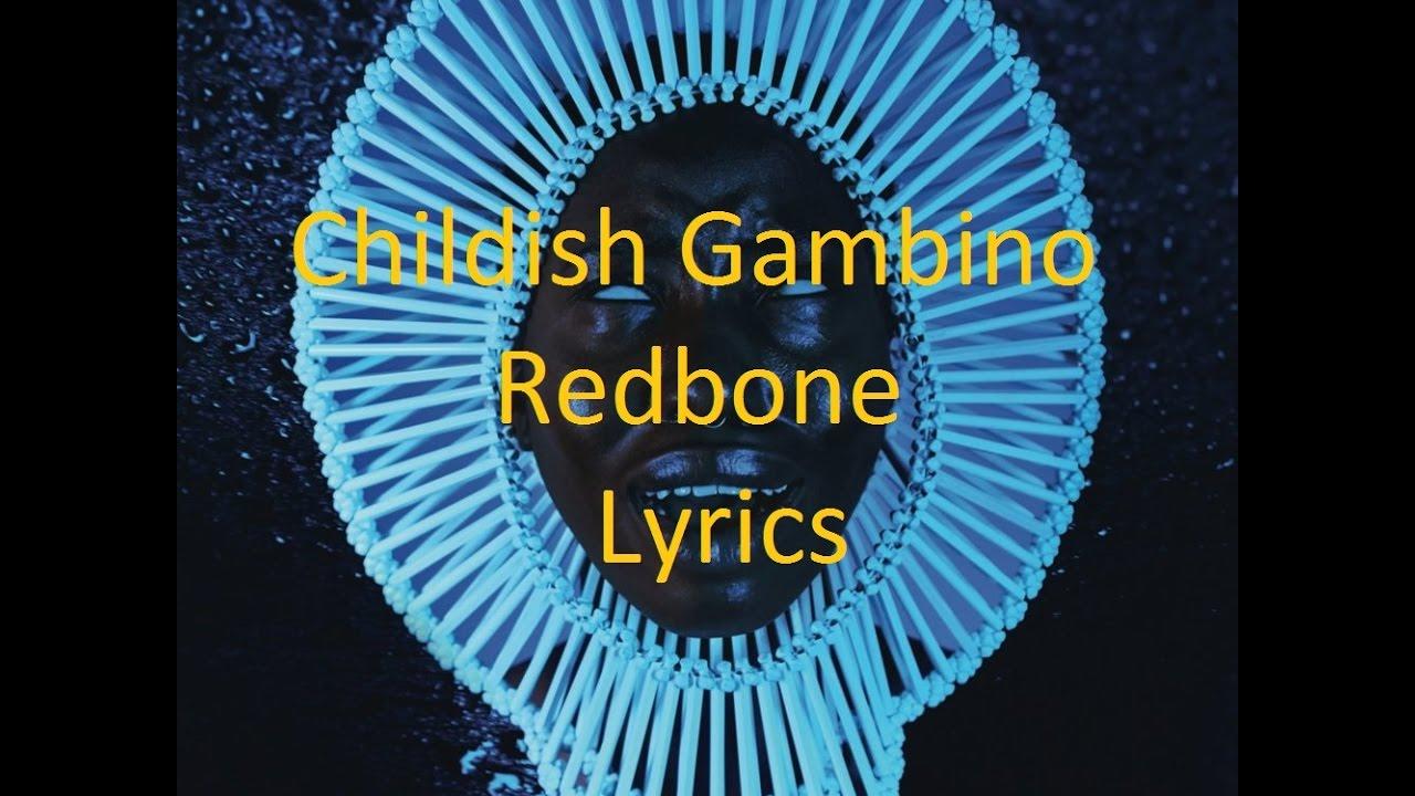Childish Gambino Redbone