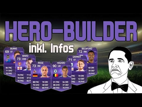 FIFA 15 | Ultimate Team | Double Hero-Squadbuilder feat. Risse, Hazard, Burns, Beckford... + Infos!