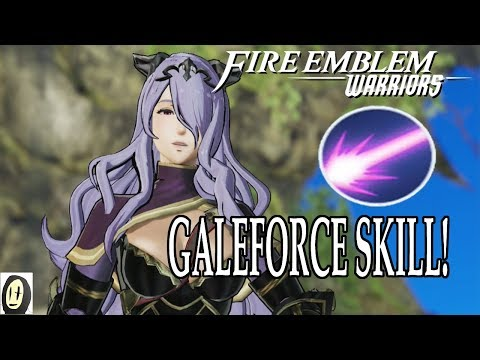 Fire Emblem Warriors - Galeforce Skill Build (Powerlevelling Setup)