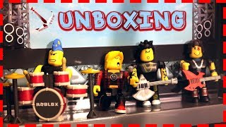 -ROBLOX- PUNK ROCKERS MUSIC BAND UNBOXING
