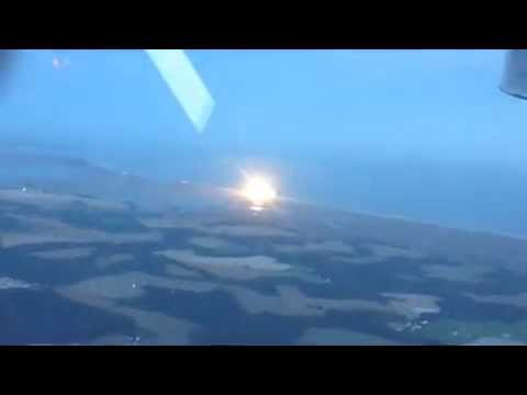 19 02 2015 Antares Explosion Insane view of the rocket explosion here as seen from a private jet