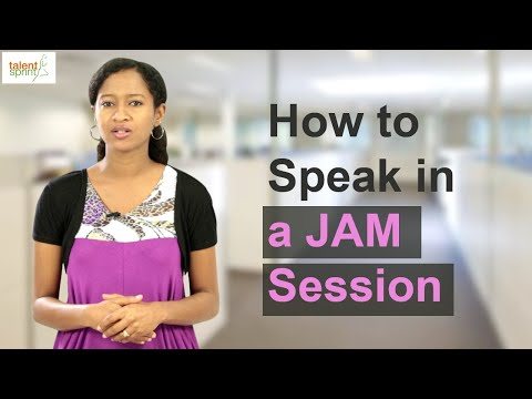 How to Speak in a JAM Session || IT Careers