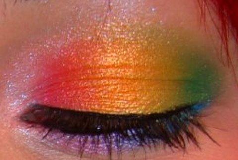 easy rainbow eyes  youtube