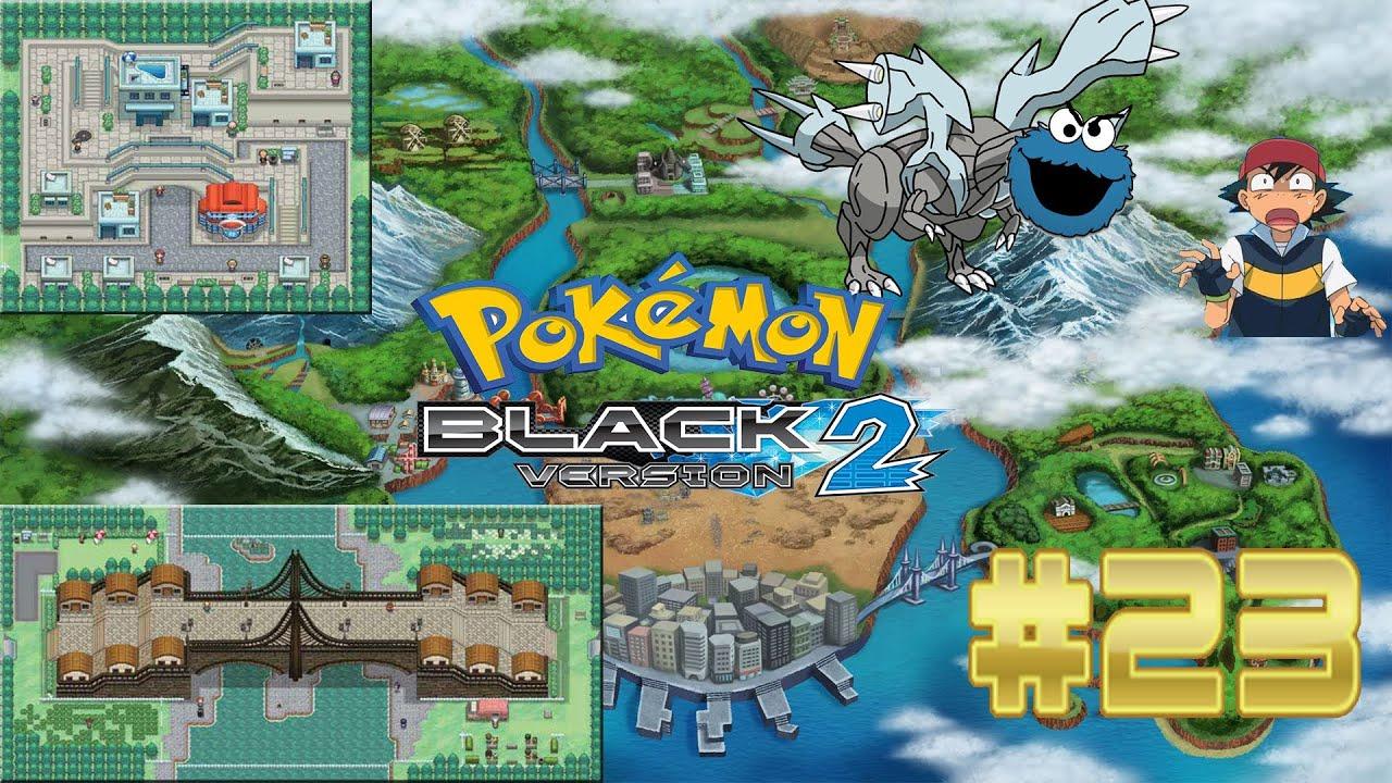 Pokemon Black 2 - Part 23: Kyurem Eats People?! (Starters ...