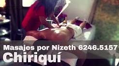 Relax Massage by Nizeth 6246.5157 en David, Chiriquí. Marketing por Rise Panama. 6981.5000