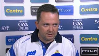 Davy Fitzgerald on Clare