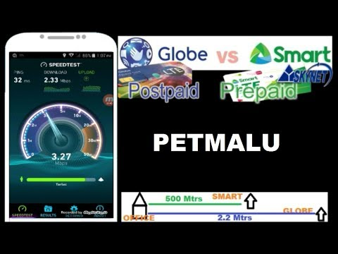 Globe Postpaid 4G VS Smart Prepaid 3G VPN  Demo Browse And Speed Test UnCut
