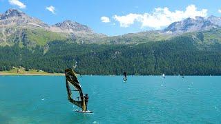 Sommerferien 2020: Beliebte Wassersportregionen (Silvaplana)
