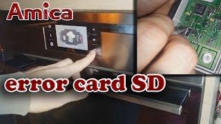 Amica error card SD // AdrianxPL naprawa piekarnika..:)) //Jak naprawić błąd error card SD Amica