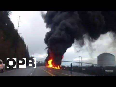 OPB News - St John's Tanker Fire