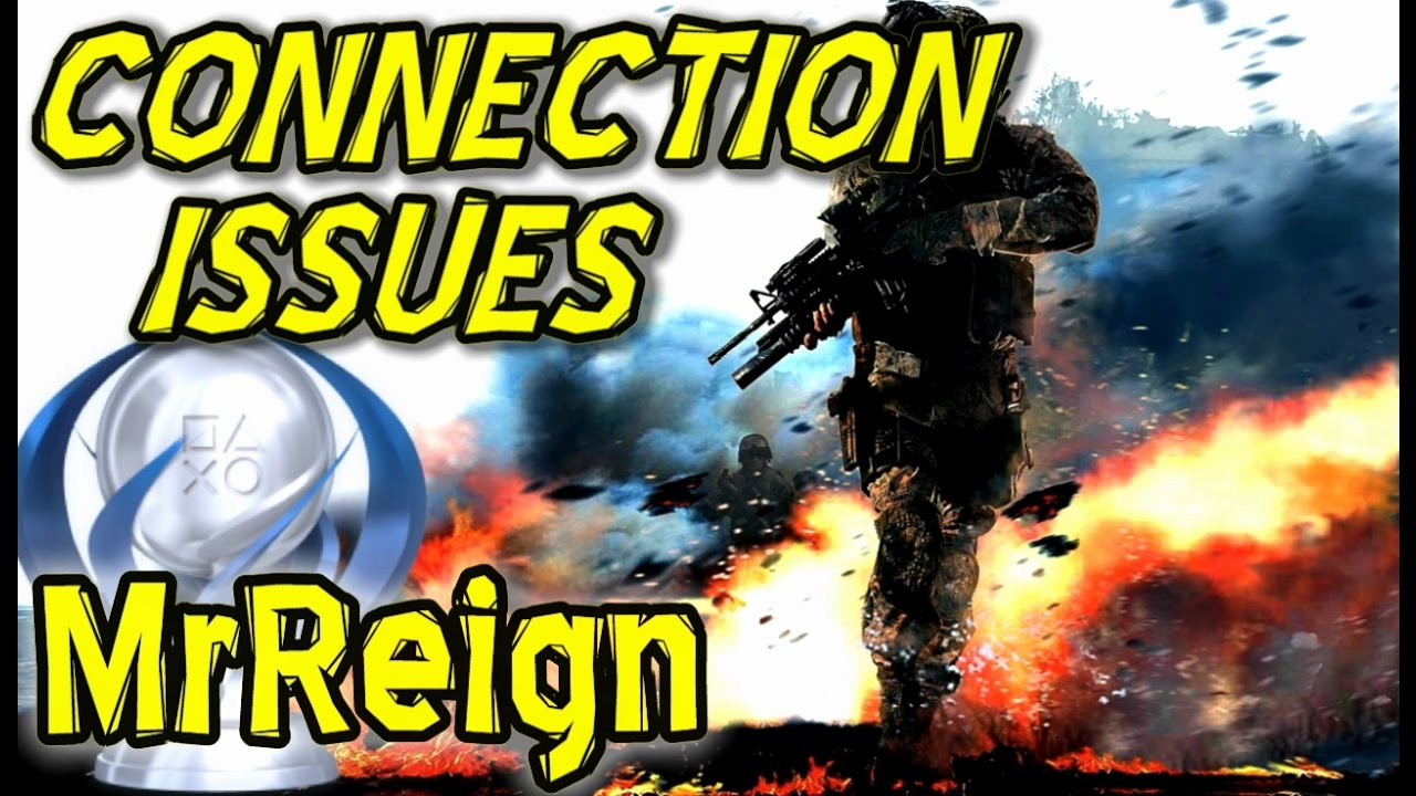 Call Of Duty Black Ops 2 - Connection Issues - Error Messages - For Activision Treyarch - YouTube