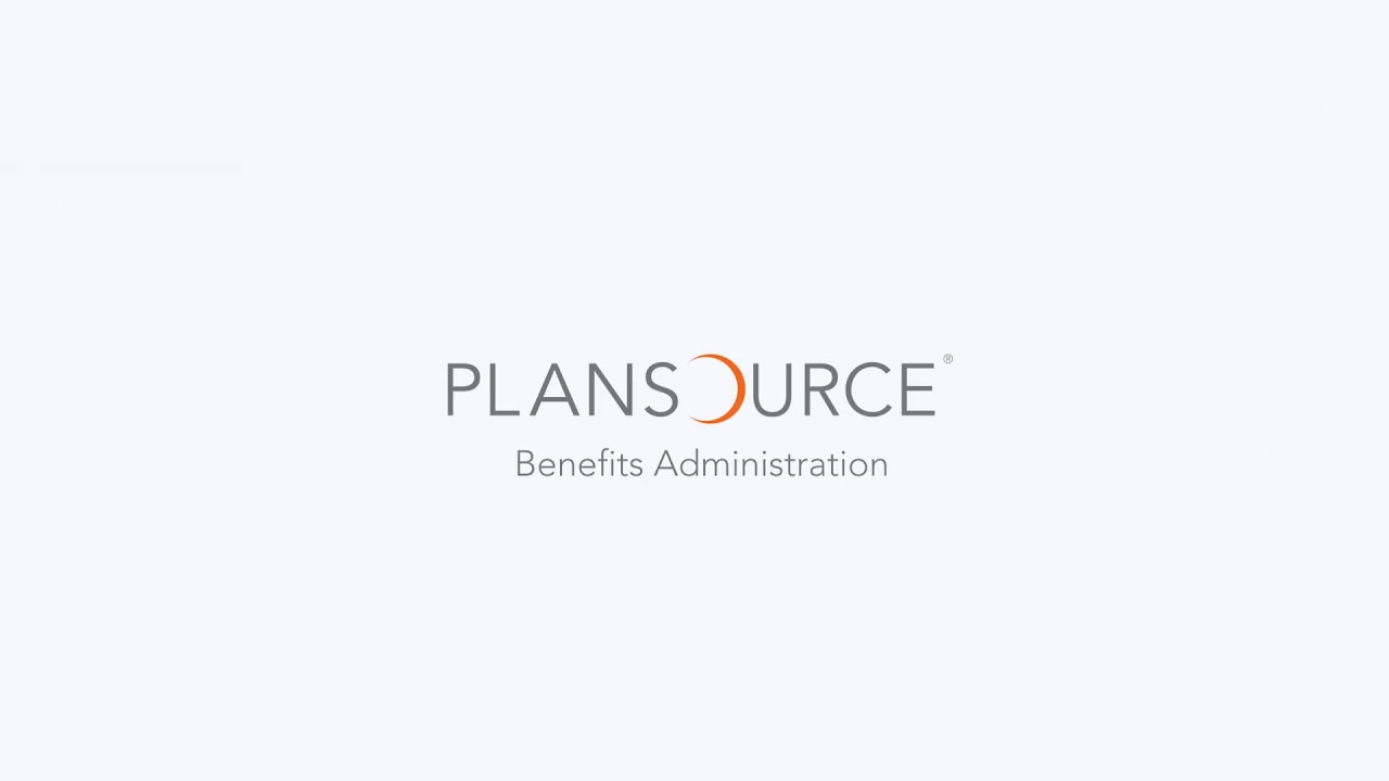 Plansource Benefits Administration Youtube