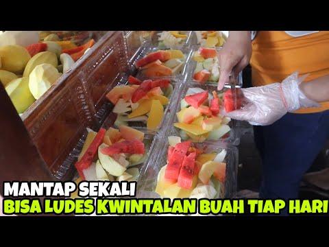 RUJAK ULEG MAS BENDOL PART 2 | KWINTALAN BUAH TIAP HARI | INDONESIA STREET FOOD #33