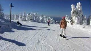 2012.01.18 山形県蔵王温泉スキー場 DMX-CA100 + 自作ワイコン.