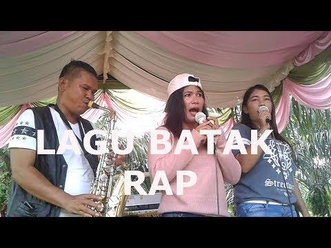 LIVE LAGU BATAK RAP VOC :  TETY DAN JUPE