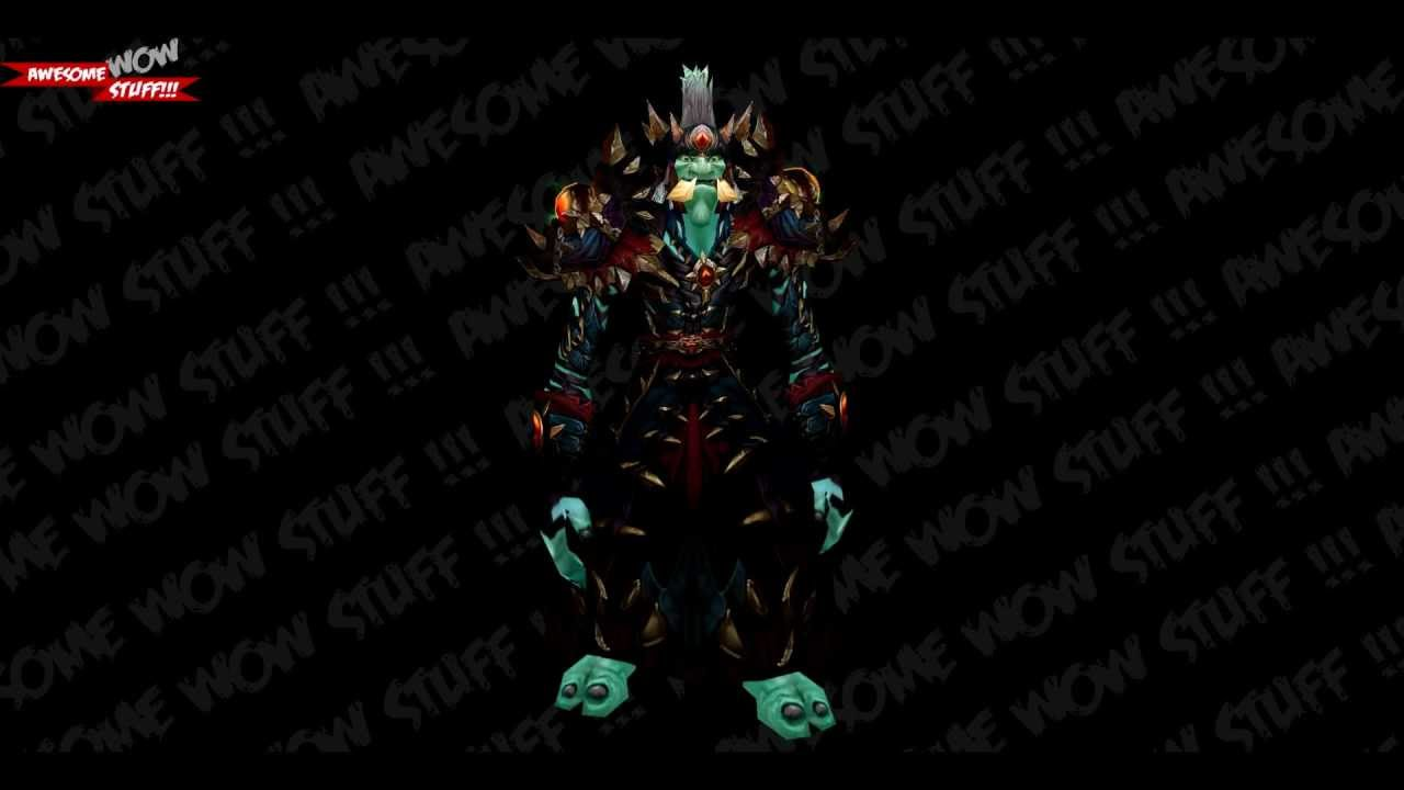 Wow Season 11 Pvp Set Warlock Troll Patch 43 Hd Youtube