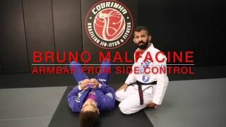 Bruno Malfacine: Armbar from Side Control