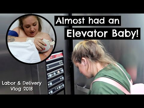 Our Rainbow Baby Labor & Delivery Vlog || 40 MINUTE SCARY, FAST LABOR