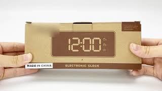 [3D토탈기획] #LED시계 #알람시계 #판촉 심플하고…