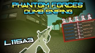 Phantom Forces Dumb Sniping - L115A3
