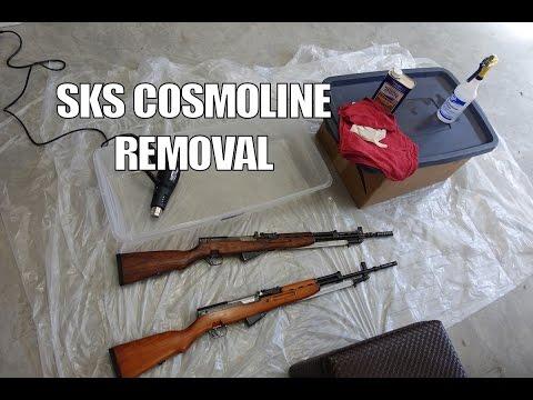 Yugo 59/66 SKS Cosmoline Removal