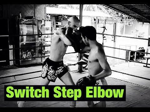 Switch Step Elbow - Muay Thai Athlete