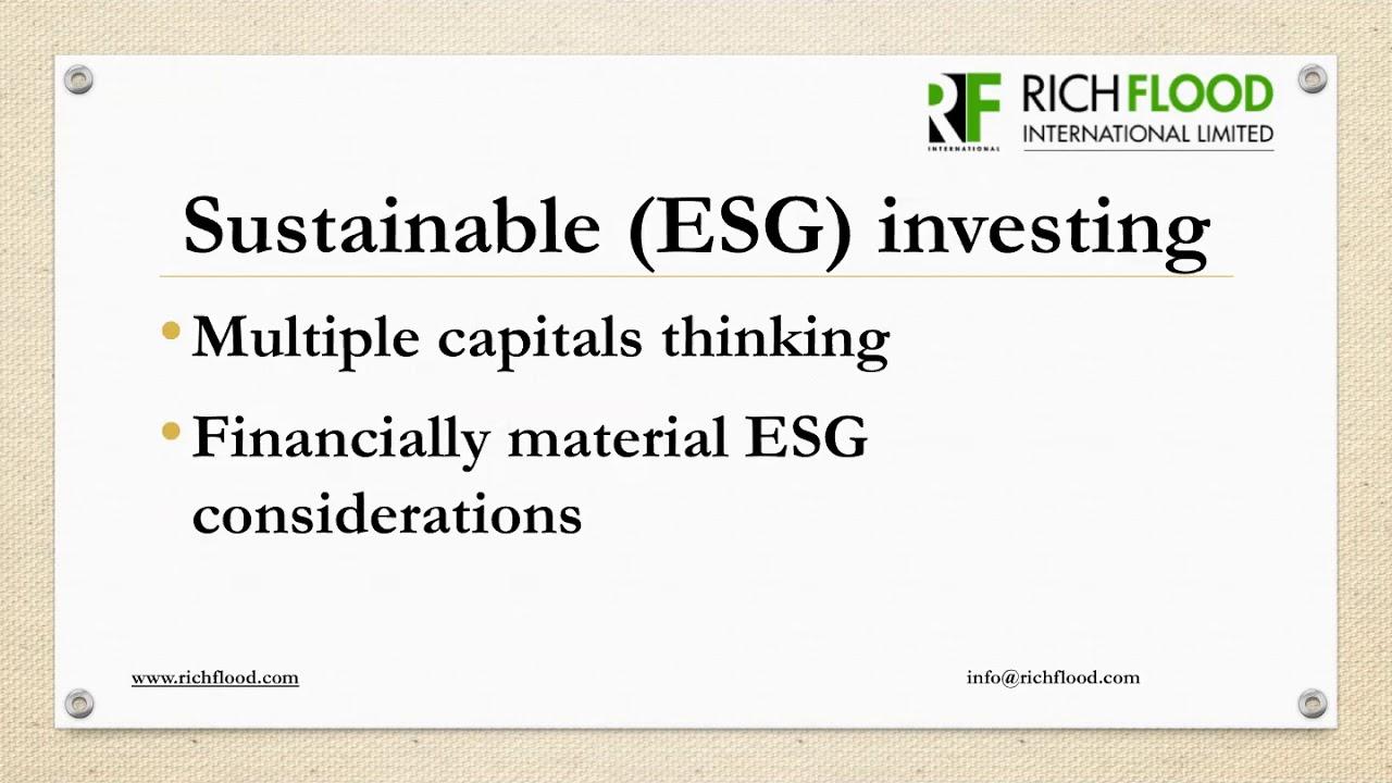 Sustainability and the COVID-19 Era (Richflood Environmental Webinar Series)
