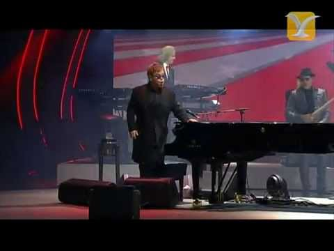 Elton John, Rocket Man, Festival de Viña 2013