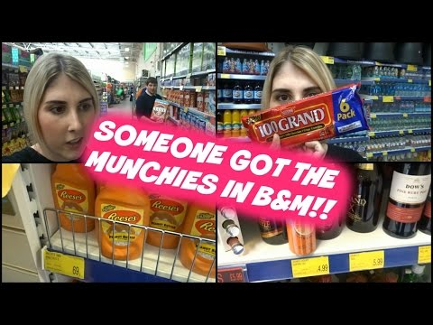 Someone got the munchies in B&M!!