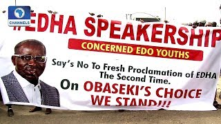 Edo Youths Protest Planned Closure Of Assembly